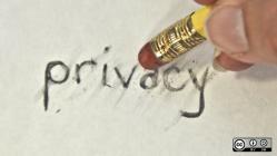 Erasing privacy