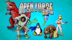Open Force superhero characters