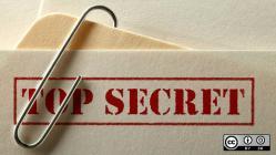 A top secret file.