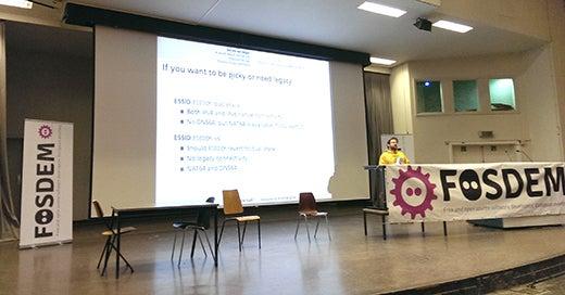 A FOSDEM 2014 talk