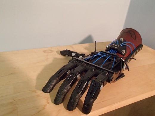 e-NABLE prosthetic hand