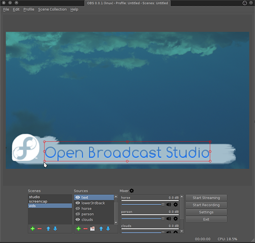 On-the-fly video editing with Open Broadcast Studio | Opensource com