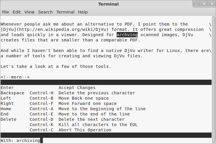 How to check spelling at the Linux command line with Aspell