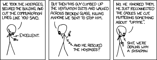 xkcd Devotion to Duty comic