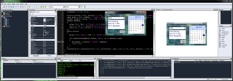 GUI system
