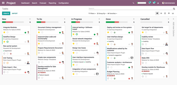 Odoo Project suite