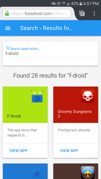 Fossdroid Search
