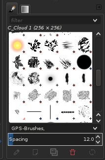 GPS brushes