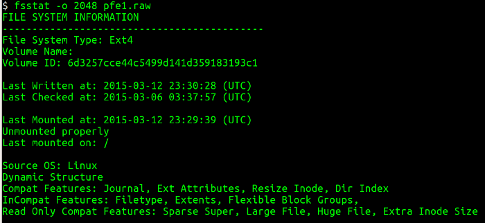Breach detection with Linux filesystem forensics