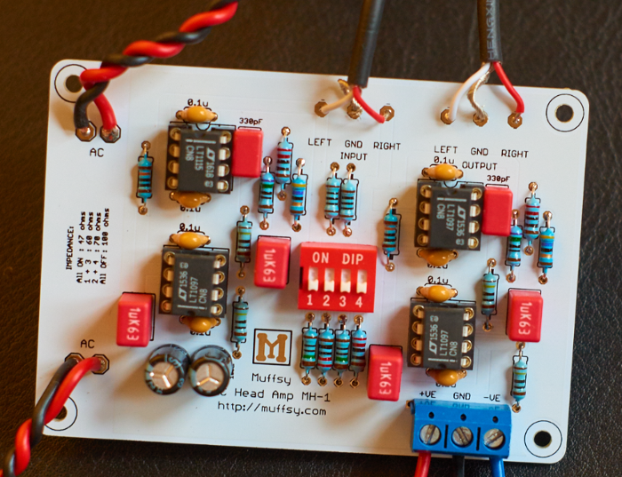 Head amplifier board