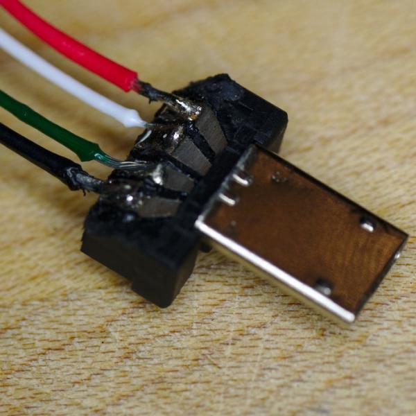 modified usb plugs