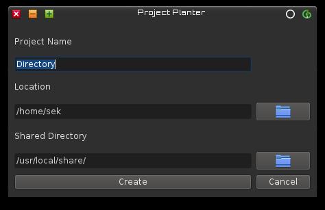 Planter GUI