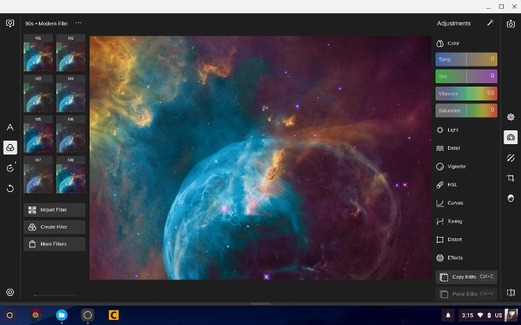 Running Chrome app Polar