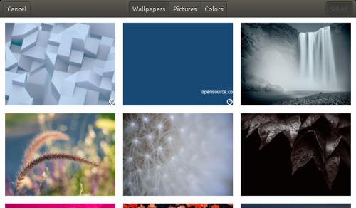 Six wallpaper images