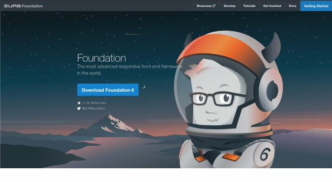 Foundation homepage