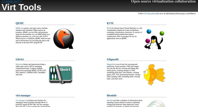 Virt Tools website