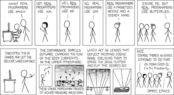 Real Programmers comic
