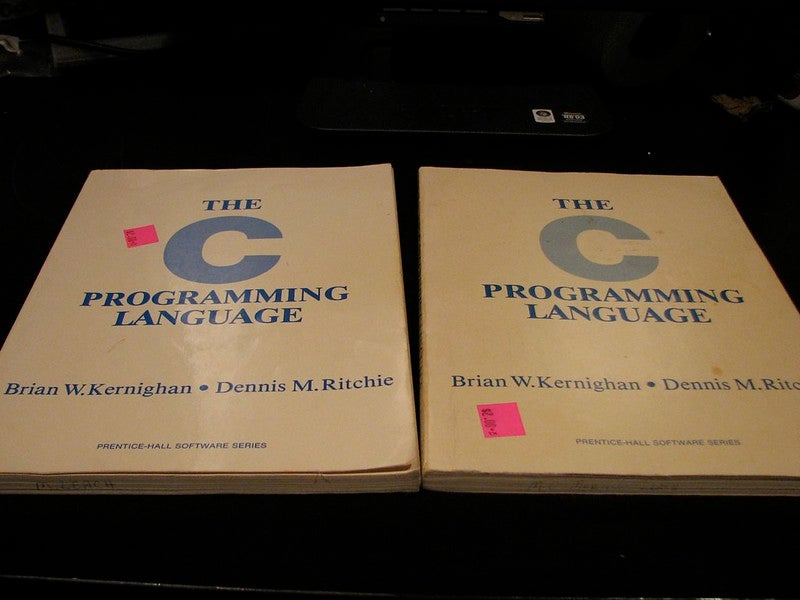 The original C programming guide by two of the language authors, circa 1978