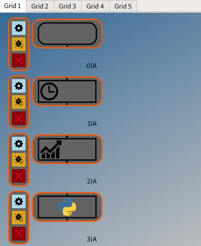 Binance Scheduler at Grid 1, Position 1A