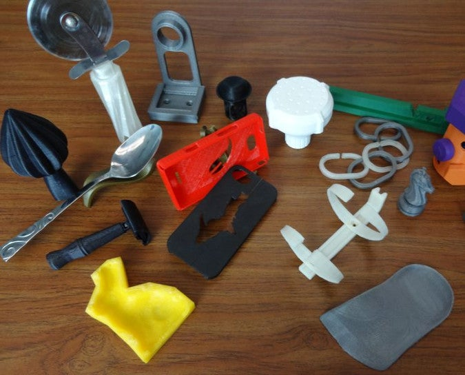 3D printed household items