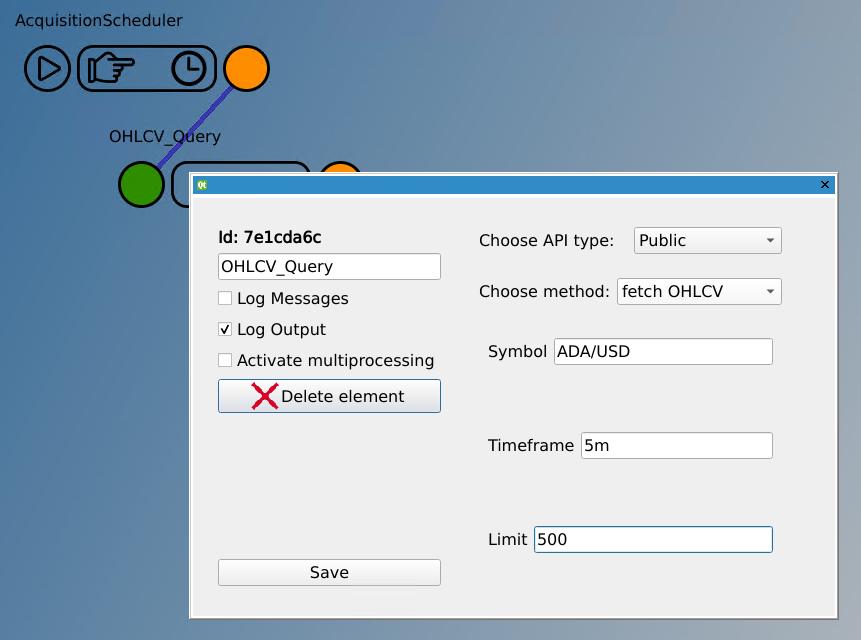 OHLCV_Query configuration