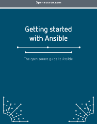 A quickstart guide to Ansible cover