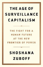 The Age of Surveillance Capitalism Book cover