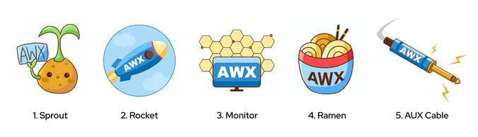 AWX logo concepts