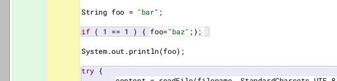 Fixed error in BlueJ