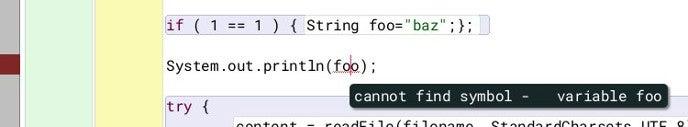 Friendly error in BlueJ
