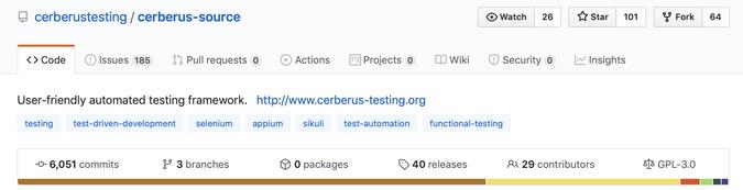 Cerberus GitHub repository
