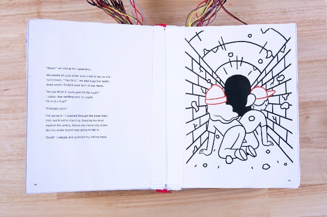 'Breaking the Code' interior pages