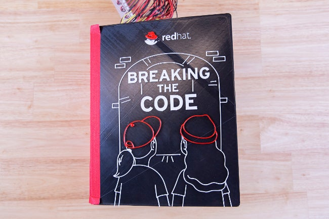 """Breaking the Code"" book cover"