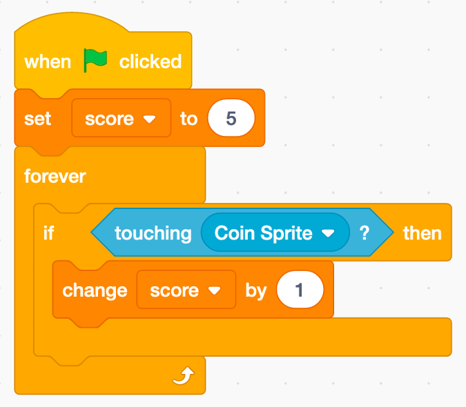 Variables in Scratch