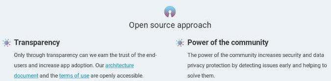 Corona-Warn-App's open source approach