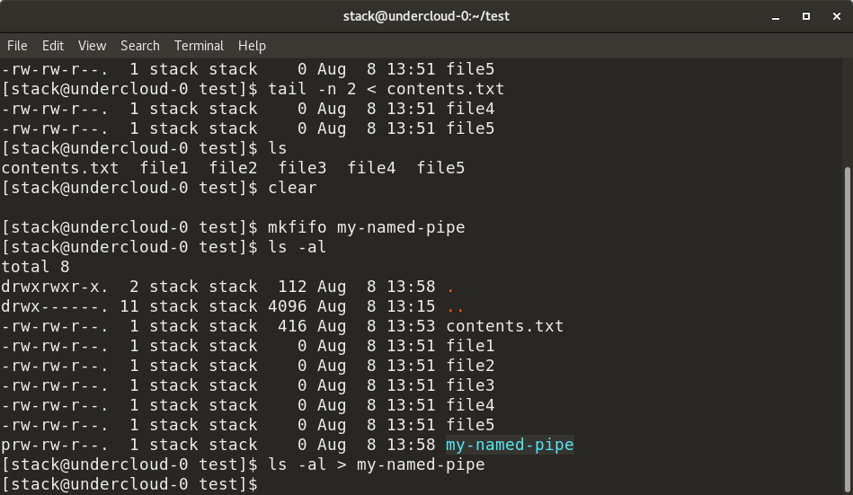 An introduction to pipes and named pipes in Linux | Opensource com