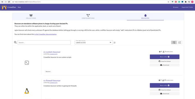 CrowdSec Hub