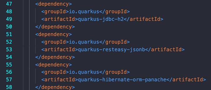dependencies in POM.xml