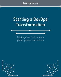 DevOps Transformation Guide cover