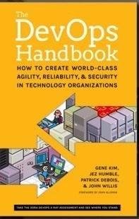 DevOps Handbook cover