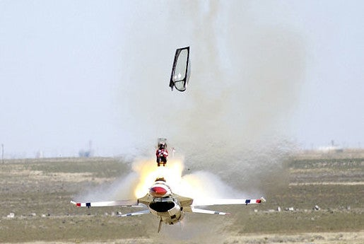 Code generation is an ejector seat from a structured platform