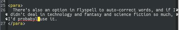 Flyspell in Emacs