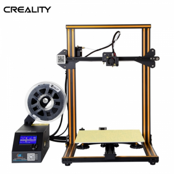 The Ender CR-10 3D printer by Creality3d.