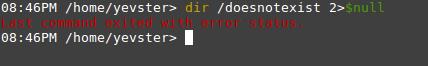 powershell error