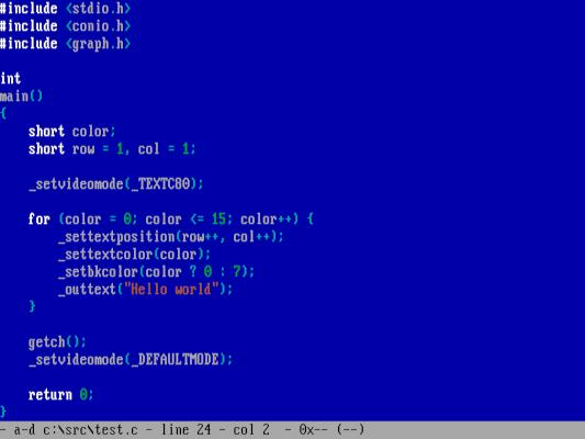 writing a simple C program