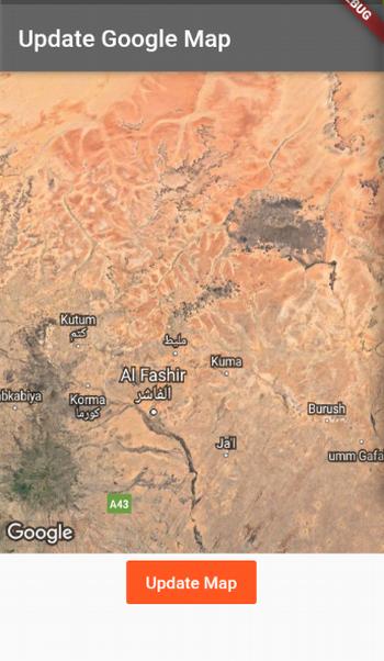 Flutter Google Maps plugin