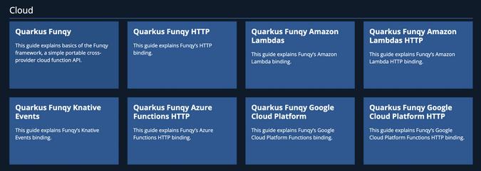 Quarkus Funqy Extensions