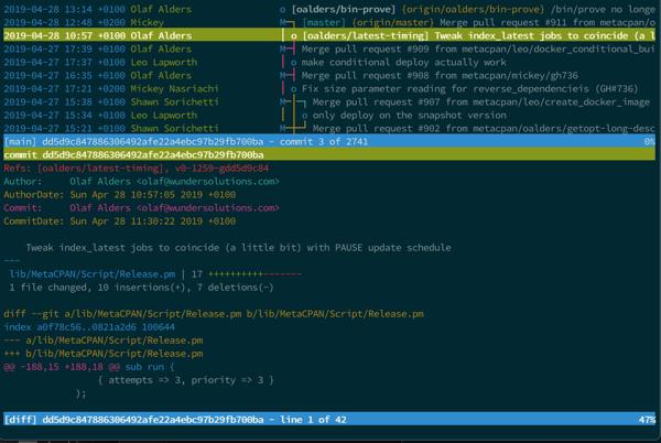 Git merge request