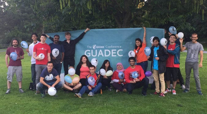 GUADEC 2015 newcomers' event