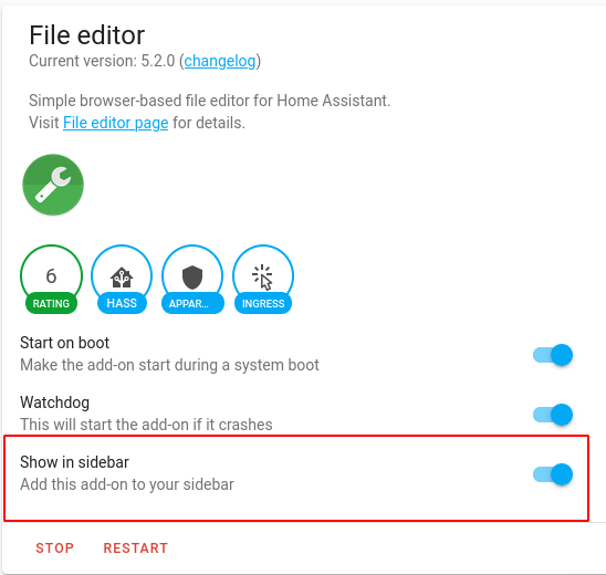 Install File Editor